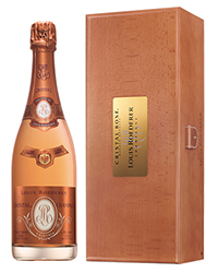 Французское Шампанское Луи Родерер Кристал Брют Розе <br>Champagne Louis Roederer Cristall Brut Rose