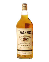 ����������� ����� ������ ������� ���� <br>Whisky Teacher`s Highland Cream