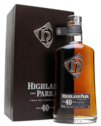 ����������� ����� ������� ���� <br>Whisky Highland Park 40 year