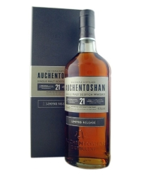 Шотландский Виски Окентошен сингл молт 21 год <br>Whisky Auchentoshan Single malt 21 year