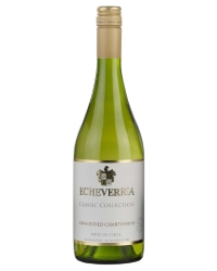 Чилийское Вино Эчеверрия Анвудед Шардонне <br>Wine Echeverria Unwooded Chardonnay