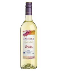 Испанское Вино Маркес де Касерес Сатинела Бланко <br>Wine Satinela Blanco Semidulce