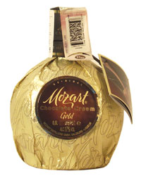 Австрийский Ликер Моцарт Золотой Шоколад Ориджинал <br>Ligueur Original Mozart Chocolate