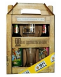 Пиво Набор Клостерброй Пиво Семейных Пивоварен 1.000 л, (Box + 1 бокал) Beer Klosterвrau Family Breweries