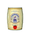 Пиво Фленсбургер Голд 5 л, светлое, фильтрованное Beer Flensburger Gold