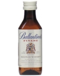 Алкоминиатюры Баллантайнс Файнест 0.050 л Whisky Ballantine`s Finest