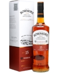 Виски Бомо Даркест 0.700 л, (туба), сингл молт Whisky Bowmore Darkest Single malt 15 years